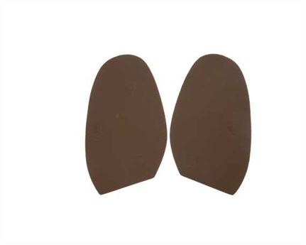 TOPY SOLING RUBBER AUSY 1.8MM (PR) CUT TO SIZE LADIES 3-4 CARAMEL