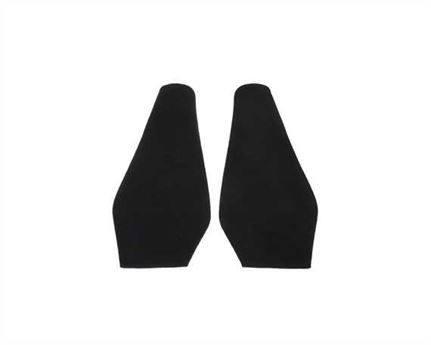 TOPY SOLING RUBBER AUSY 1.8MM (PR) CUT TO SIZE LADIES FASHION (POINTY) BLACK