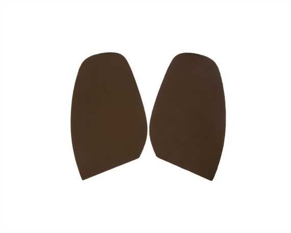TOPY SOLING RUBBER AUSY 1.8MM (PR) CUT TO SIZE MEN 5-6 CARAMEL