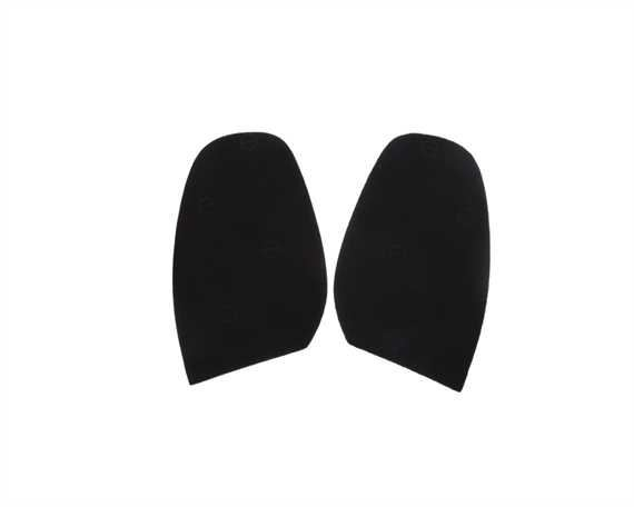 TOPY SOLING RUBBER AUSY 1.8MM (PR) CUT TO SIZE MEN 7-8 BLACK