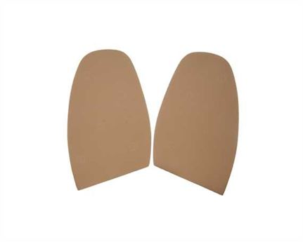 TOPY SOLING RUBBER AUSY 1.8MM (PR) CUT TO SIZE MEN 11-12 BEIGE