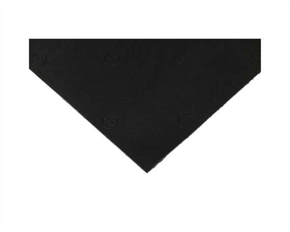 TOPY SOLING ELYSEE 3.5MM BLACK (PATTERNED) SHEET (96 x 60CM)