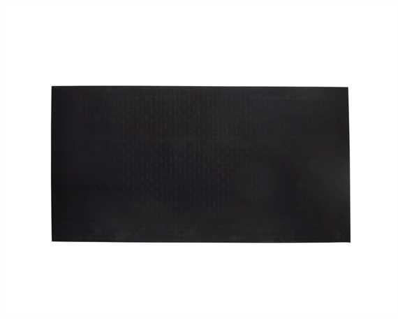 TOPY HEELING VULKOTOP SHEET (50 X 25CM) 6MM SMOOTH BLACK