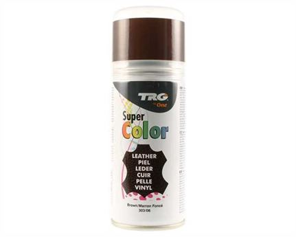 TRG SUPER COLOUR AEROSOL SPRAY 150ML BROWN 303