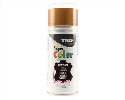 TRG SUPER COLOUR AEROSOL SPRAY 150ML CHAMOIS 347