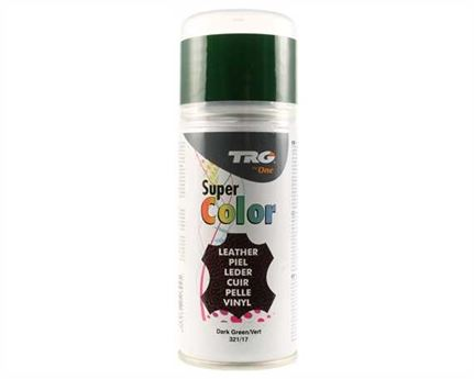TRG SUPER COLOUR AEROSOL SPRAY 150ML DARK GREEN 321