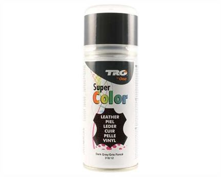 TRG SUPER COLOUR AEROSOL SPRAY 150ML DARK GREY 318