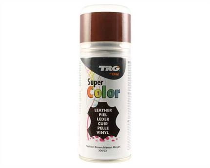 TRG SUPER COLOUR AEROSOL SPRAY 150ML FASHION BROWN 306
