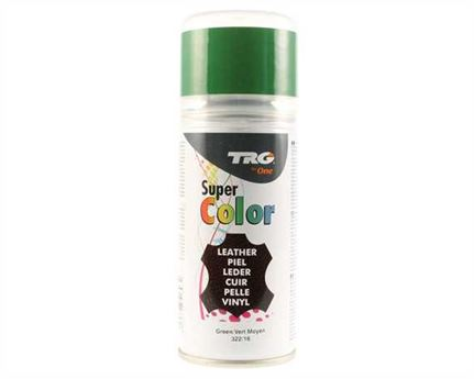 TRG SUPER COLOUR AEROSOL SPRAY 150ML GREEN 322