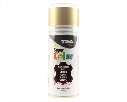 TRG SUPER COLOUR AEROSOL SPRAY 150ML PALE GOLD 333
