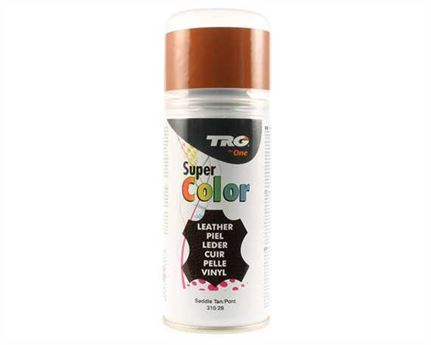 TRG SUPER COLOUR AEROSOL SPRAY 150ML SADDLE TAN 310