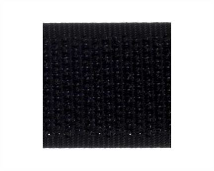 VELCRO® Brand 16MM HOOK SIDE OF SEW-ON TAPE BLACK