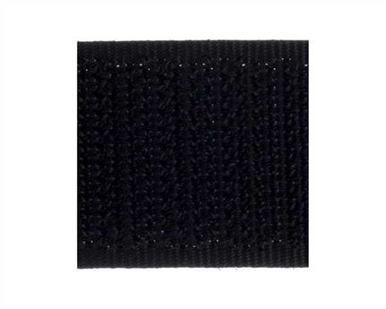 VELCRO® Brand 20MM HOOK SIDE OF SEW-ON TAPE BLACK