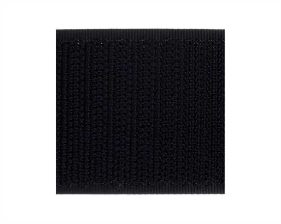 VELCRO® Brand 38MM HOOK SIDE OF SEW-ON TAPE BLACK