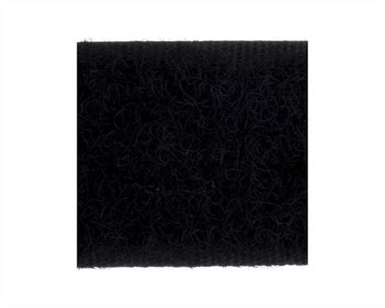 VELCRO® Brand 20MM LOOP SIDE OF SEW-ON BLACK