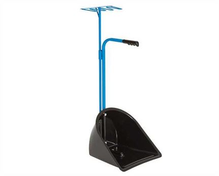 STUBBS SUPER MATE SCOOPER AND RAKE BLUE