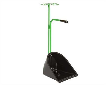 STUBBS SUPER MATE SCOOPER AND RAKE GREEN