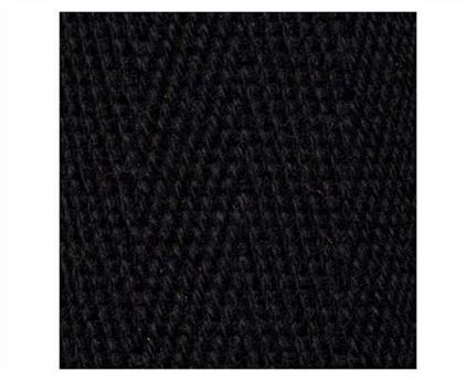 WEBBING BINDING COTTON (PER L/MTR) 25MM BLACK