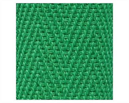 WEBBING BINDING COTTON (PER L/MTR) EMERALD GREEN G54 25MM