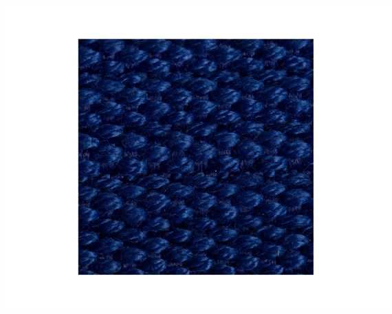 WEBBING SPUN POLYESTER RIBBED (PER L/MTR) ROYAL #208 20MM