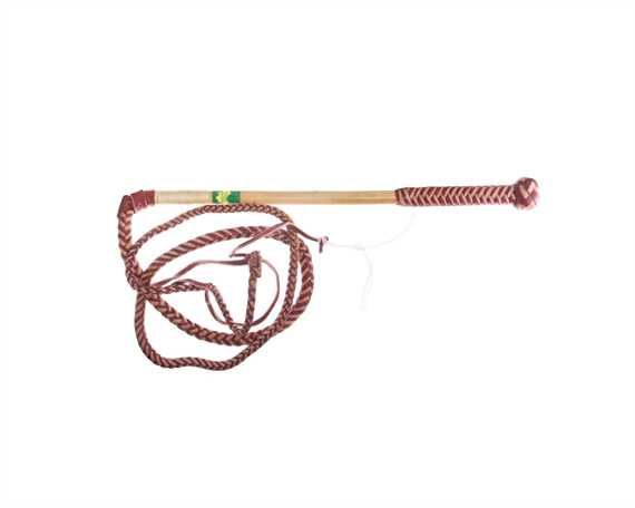 WHIP STOCK REDHIDE 6 FOOT 6 PLAIT