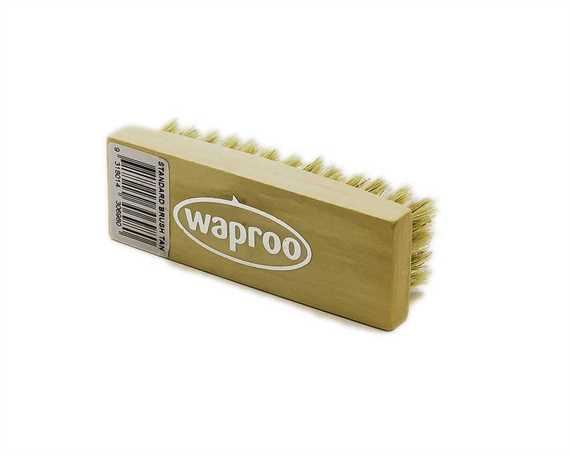 WAPROO STD SHOE BRUSH TAN