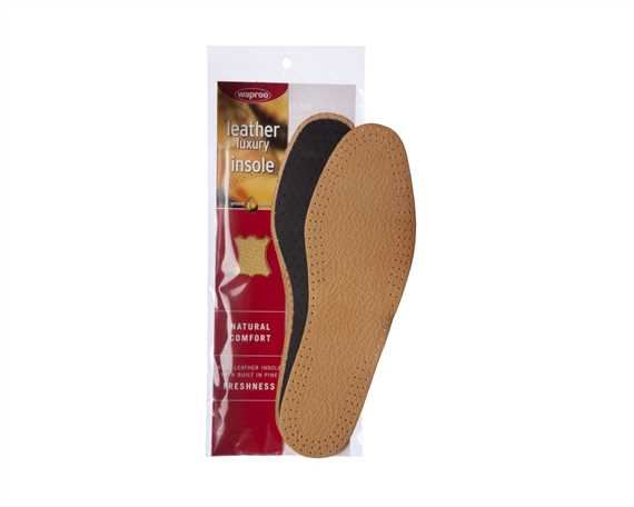 WAPROO LEATHER DELUXE INSOLE FULL MENS LARGE