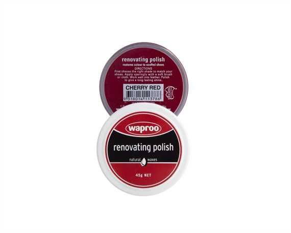 WAPROO RENOVATING POLISH CHERRY RED 45GM