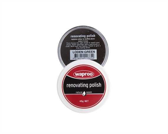 WAPROO RENOVATING POLISH LODEN GREEN 45GM