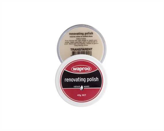WAPROO RENOVATING POLISH TRANSPARENT 45GM