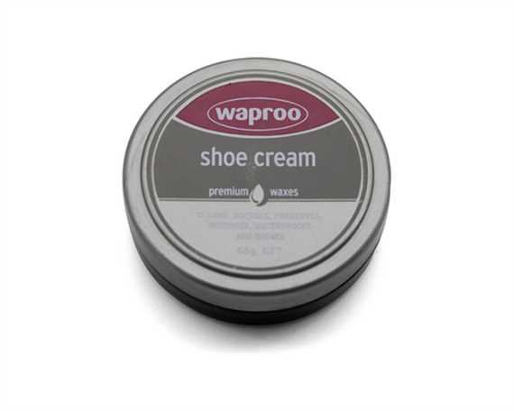WAPROO SHOE CREAM BLACK 45GM