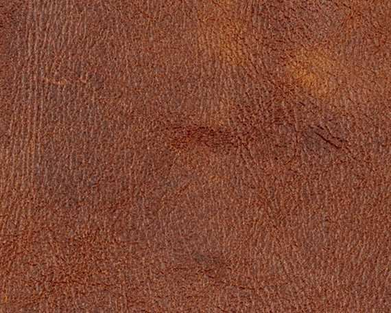 ZARZUELA PISTA PECAN  UPHOLSTERY LEATHER FULL HIDE