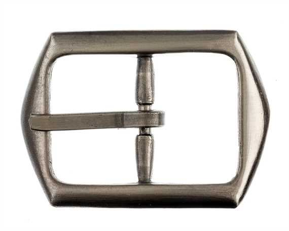 BUCKLE BELT ANTIQUE NICKEL 30MM