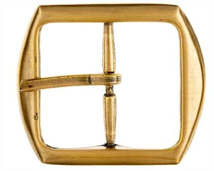 BUCKLE BELT BRASS ANTIQUE 40MM