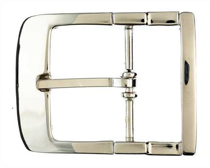 BUCKLE BELT NICKEL PLATE 40MM