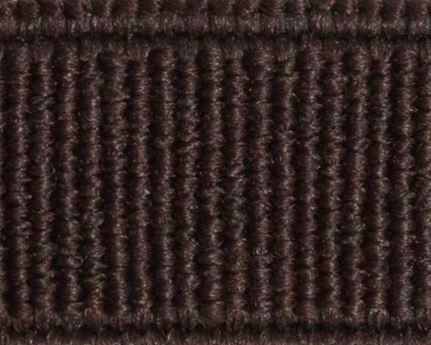 ELASTIC FLAT BROWN (PER L/MTR) 10MM