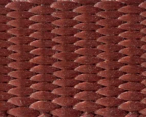 WEBBING POLYESTER HEAVY BROWN 12MM (PER L/MTR)