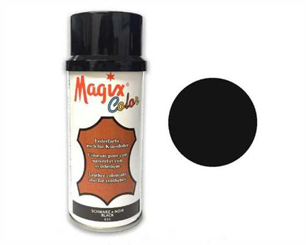 GRISON MAGIX SHOE COLOUR SPRAY 150ML BLACK