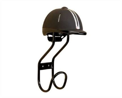 STUBBS DOUBLE HAT RACK BLACK