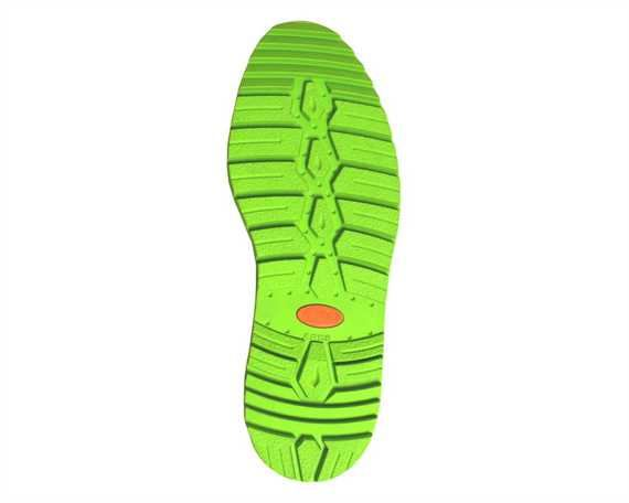 ALPINE PASS ARES FULL SOLE GREEN SIZE 39/41