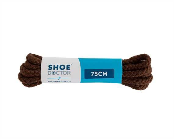 SHOE DOCTOR 75CM CORDED LACE COGNAC