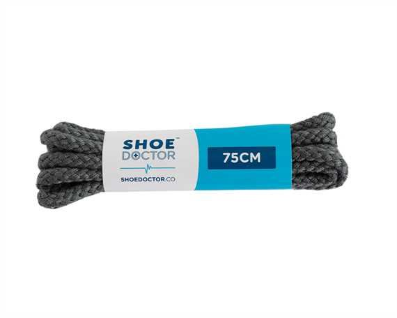 SHOE DOCTOR 75CM CORDED LACE GREY