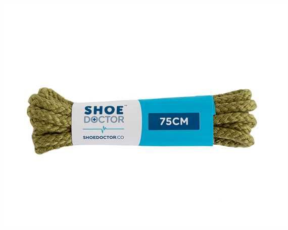 SHOE DOCTOR 75CM CORDED LACE OLIVE