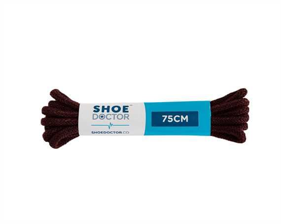 SHOE DOCTOR 75CM FINE ROUND LACE BURGUNDY