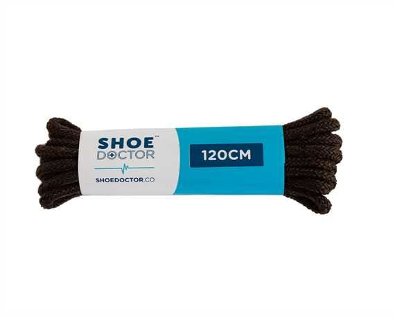 SHOE DOCTOR 120CM FINE ROUND LACE BROWN