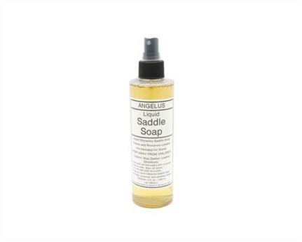 ANGELUS SADDLE SOAP #221 8 OZ LIQUID SPRAY