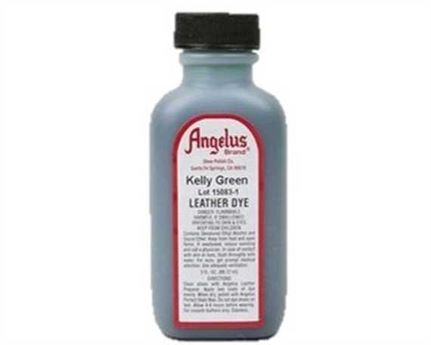 ANGELUS LUSTRE CREAM KELLY GREEN #051 88.72ML