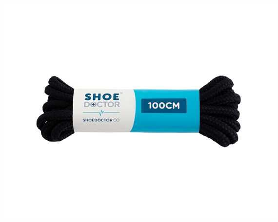 SHOE DOCTOR 100CM THICK ROUND LACE NAVY