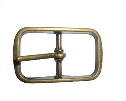 BUCKLE BELT BRASS ANTIQUE 25MM