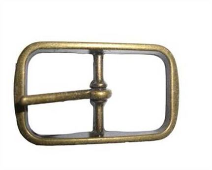 BUCKLE BELT BRASS ANTIQUE 30MM